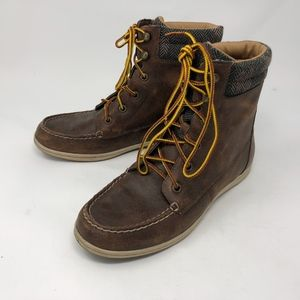 Sperry Brown Bayfish Lace Up Boot 6